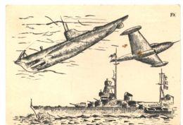 C1445 ACCCADEMIA NAVALE MAK AUSTRALI 1951 1955 ILLUSTATA - Altri