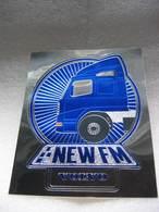 "Autocollant ""The NEW FM VOLVO"" - Pegatinas"