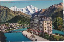 Interlaken . Hotel 'Central'  (Dir. Ed. Ritschard Storck) - BE Berne