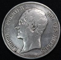 BELGIE 1865 LEOPOLD I    TOP KWALITEIT  - POS  A -  ZIE 4 AFBEELDINGEN - 1831-1865: Léopold I