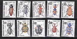 France Taxe 103 112 Gomme Tropicale Neuf ** TB MNH Sin Charnela Cote 15 Dallay - Variétés: 1980-89 Neufs