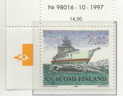 """PIA - FINLANDIA  - 1998 : """"NORDEN"""" - La Navigazione Marittima - (Yv 1401-02) - Marittimi"""
