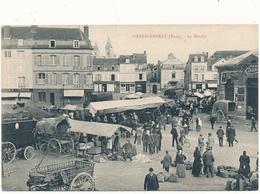 GRAND  ANDELY - Le Marché - Les Andelys