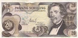 Zwanzig Schilling Österreich 1967 AU/EF (II) - Oesterreich