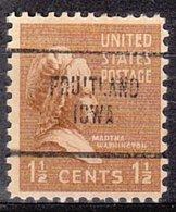 USA Precancel Vorausentwertung Preo, Locals Iowa, Fruitland 704 - Vereinigte Staaten