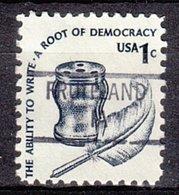 USA Precancel Vorausentwertung Preo, Locals Iowa, Fruitland 841 - Vereinigte Staaten