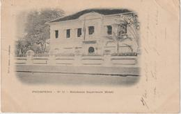 Asie :  Cambodge , Pnompenh ,  Résidence   Supérieure  Hôtel - Cambodia