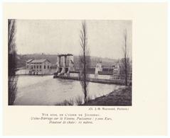 Vers 1935 - Iconographie - Millac (Vienne) - Le Barrage De Jousseau - FRANCO DE PORT - Vieux Papiers