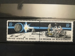 FRANCOBOLLI STAMPS U.S.A. STATI UNITI 1971 MNH** NUOVI SERIE COMPLETA UNITED STATES IN SPACE - Nuovi