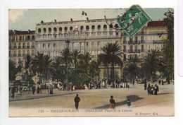 - CPA TOULON-SUR-MER (83) - Grand Hôtel, Place De La Liberté 1912 (belle Animation) - Edition A. Bougault 719 - - Toulon