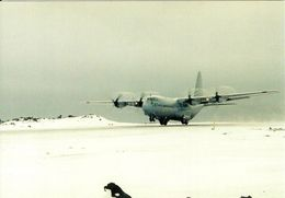 1 AK Island Jan Mayen Zu Norwegen * Ein Flugzeug Hercules C-130 Auf Dieser Insel Im Nordatlantik * - Norwegen