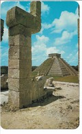 Mexico -Chichen Itza - Yocatan. Sent To Denmark.  S-4745 - Mexico
