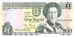 One Pound Jersey UNC - Isle Of Man / Channel Island