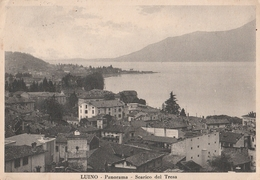 Cartolina - Postcard /    Viaggiata - Sent /  Luino, Panorama.  ( Gran Formato ) Anni 30° - Varese