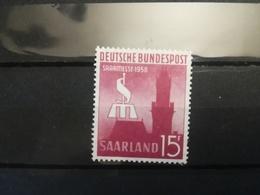 FRANCOBOLLI STAMPS GERMANIA DEUTSCHE SAAR 1952 MNH** NUOVI SAAR INTERNATIONAL FAIR GERMANY - 1957-59 Federazione
