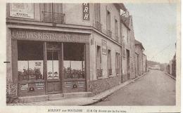 AULNAY SUR MAULDRE Route De La Falaise.Restauarnt Billard - Frankreich