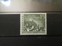 FRANCOBOLLI STAMPS GERMANIA DEUTSCHE SAAR 1958 MNH** NUOVI ANNIVERSARY HOMBURG GERMANY - 1957-59 Federazione