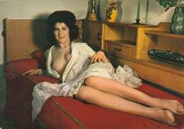 ***    édition Lyna PARIS - Femme Lassive -  A Morel  Neuve TTB - Pin-Ups