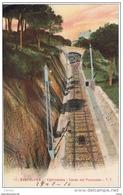 BARCELONA:  VALLVIDRERA  -  LINEA  DEL  FUNICULAR  -  PARA  AUSTRIA  -  FP - Funiculares