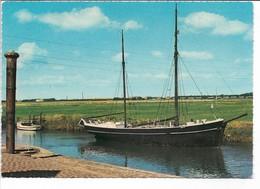 Old Ship In Ribe.  Used 1965.  Denmark.  B-3663 - Ships