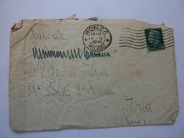 """Busta Viaggiata """"Cap. Maggiore 2° Regg. Di Marcia 53 Batt. 2° Compagnia ERBA ( Como )"""" 1942 - Marcofilie"""