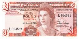 One Pound Gibraltar 1988 UNC - Gibraltar