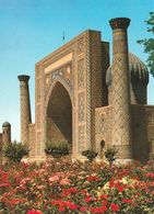1 AK Usbekistan * Sher–Dor-Madrasa Erb. Im 17. Jh. Am Registan-Platz In Samarkand - Seit 2001 UNESCO Weltkulturerbe * - Usbekistan