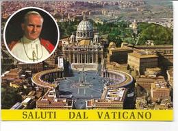 Saluti Dal Vaticano. Sent To  Denmark.  B-3664 - Vatican