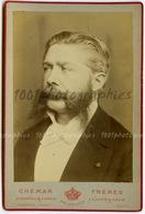 Cabinet Portrait De Philippe Marie Victor Jacobs 1838-1891, Bâtonnier De L'Ordre Des Avocats Et Ancien Membre - Photos