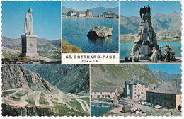 St. Gotthard-Pass 2114 M. ü. M. - UR Uri