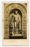 CDV Anonyme,  Portrait En Statue Du Roi Léopold 1er. - Fotos