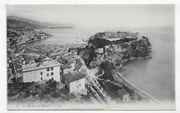 MONACO - N° 1 - LE ROCHER - CPA NON VOYAGEE - Monaco