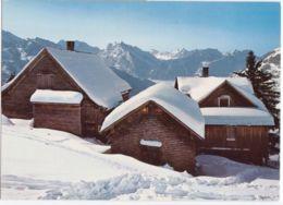 Amden, Dorfansicht Im Schnee - SG St. Gall