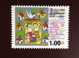 Sri Lanka 1992 Gam Udawa MNH - Sri Lanka (Ceylan) (1948-...)