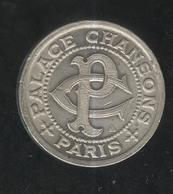 Jeton Bon Pour Une Audition - Palace Chansons Paris - 27 Bd De Strasbourg - SPL - Professionali / Di Società