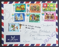 1976 Cover, Sokode Togo - Colmar France, Air Mail - Togo (1960-...)