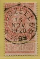 +MW-3769     *  DUDZEELE *   OCB 57   Sterstempel     COBA   +30 - 1893-1800 Fijne Baard