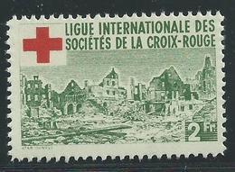 [30] Ligue Internationale De La Croix-rouge ** - Commemorative Labels