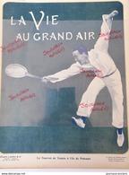 1904 LE TOURNOI DE TENNIS À L'ÎLE DE PUTEAUX - Alte Papiere