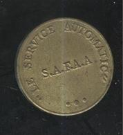 Jeton Le Service Automatic - S.A.F.A.A. - Uniface - Professionals / Firms