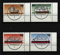 BERLIN - Mi-Nr. 544 - 547 Jugend Deutsche Schiffe Gestempelt (3) - Berlin (West)