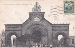 CUBA - Havana - Colon Cementery Entrance - Cuba