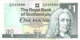 One Pound Scottland 2000 UNC - [ 3] Schottland