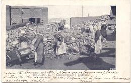 CP - Charbonnage - Femmes Trieuses - Cachet Stempel Nimy à Quaregnon 1902 - Mines