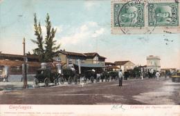 CUBA - Cienfuegos - Estacion Del Ferro-Carril - 1913 - Attention Etat - Cuba