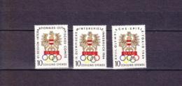1964  Olympiajahr Innsbruck-Tokio - Winter 1964: Innsbruck