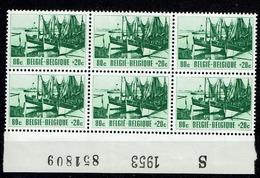 918  Bloc 6  **  Bdf  S  1953   851809 - Neufs