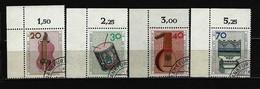 BERLIN - Komplettsatz Mi-Nr. 459 - 462 Eckrandsatz Musikinstrumente Gestempelt (1) - [5] Berlin