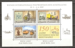 Autriche 2000 - WIPA 2000 - B 18 MNH - Blocks & Kleinbögen