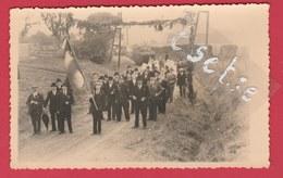 Grandrieu -Fête De La Libération ...1946 - Carte Photo 2 ( Voir Verso ) - Sivry-Rance